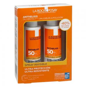 Duplo La Roche Posay Anthelios XL Ultra Ligera Spray Invisible SPF50+ 2x200ml