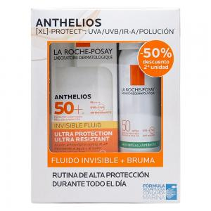 Pack La Roche Posay Anthelios Fluido Invisible SPF50+ 50ml + Bruma Invisible SPF50+ 200ml