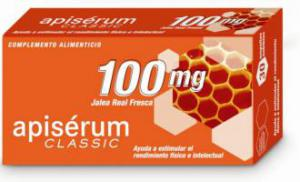 Apisérum 100 mg. 30 Ampollas