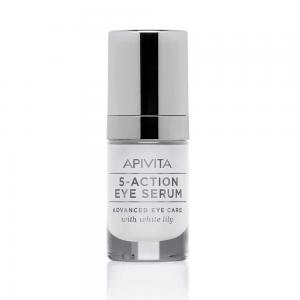 Apivita 5-Action Eye Serum con Lirio Blanco 15ml