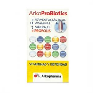 Arkobiotics Vitaminas y Defensas Adultos con 12 Vitaminas y 7 Minerales 30 Comprimidos