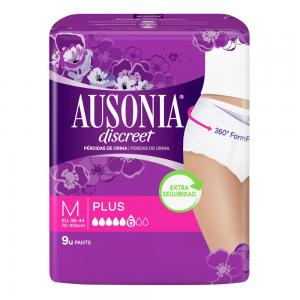 Ausonia Discreet Pants Plus TM 9 unidades