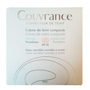 Avene Couvrance Compacto Oil-Free Porcelana SPF30 9,5 gr.