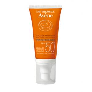 Avene Solar Crema Facial SPF50+ con Color Piel Sensible 50ml