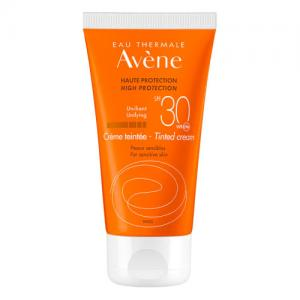 Avene Solar Crema Facial con Color SPF30 Piel Sensible 50ml