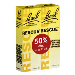 Dr. Bach Rescue Remedy Gotas 2x10ml