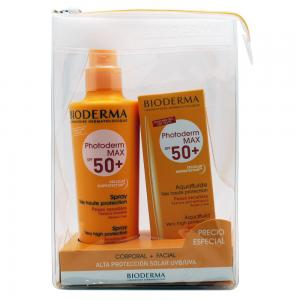 Pack Bioderma Photoderm Max SPF50+ 200ml + Aquafluide Facial SPF50+ 40ml