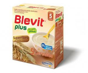 Blevit Plus 5 Cereales Gama Superfibra 600 gr.