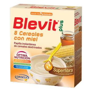 Blevit Plus 8 Cereales Con Miel Superfibra 600 gr