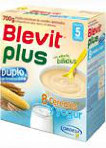 Blevit Plus Duplo 8 Cereales y Yogur 600 gr.