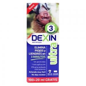Dexin Ultra Antipiojos 100ml + 20ml Regalo