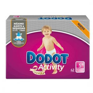 Dodot Activity Talla 5 ( 13 a 18 KG ) 42 unidades