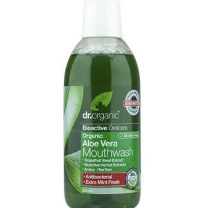 Dr. Organic Enjuague Bucal de Aloe Vera Orgánico 500ml