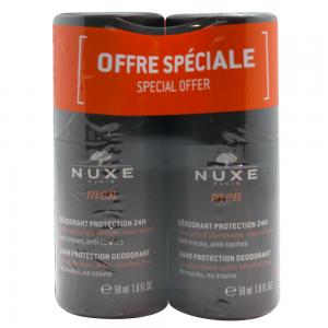 Duplo Nuxe Men Desodorante Protección 24H Roll-on 2x50ml