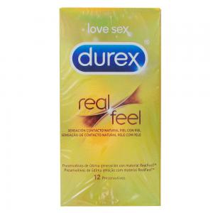 Durex Sensitivo Real Feel 12 preservativos