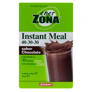 Enerzona Instant Meal chocolate caja 4 sobres