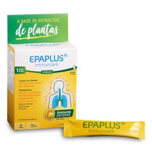 Epaplus Immuncare Viravix Defensas Sabor Melocotón 15 Sticks