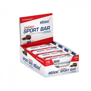 Etixx Energy Sport Bar 12 barritas (sabor Chocolate)