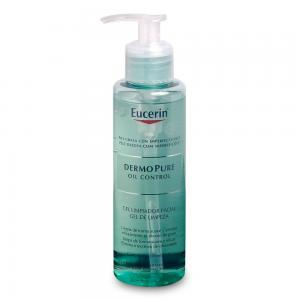 Eucerin Dermo Pure Oil Control Gel Limpiador Facial 200ml