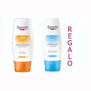 Eucerin Fotoprotector Loción Extra Light SPF50+ 150ml + Aftersun de Regalo