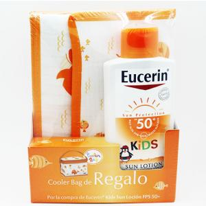 Eucerin kids Sun Lotion SPF50 400ml + regalo bolsa nevera