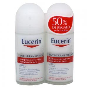Duplo Eucerin Desodorante Antitranspirante Roll-On 2x50ml
