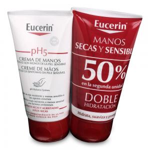 Duplo Eucerin Crema Manos pH5 2x75ml