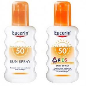Eucerin Pack Familiar Spray SPF50 + Kids Spray Solar SPF50