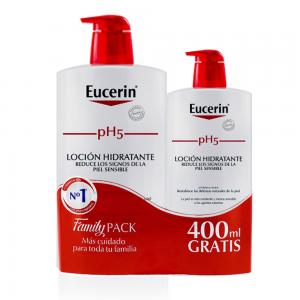 Eucerin PH5 locion piel sensible 1000ml+ 400ml gratis
