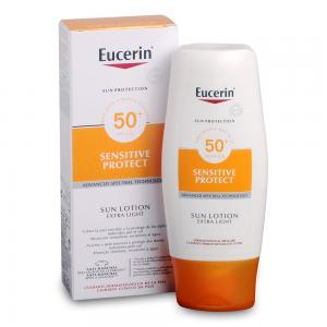 Eucerin Sensitive Protect SPF50+ Sun Loción Extra Light 150ml