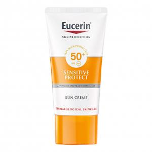 Eucerin Sun Sensitive Protect Crema Facial SPF50+ Piel Seca 50ml