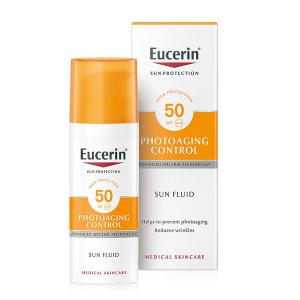 Eucerin Sun Fluido Facial Photoaging SPF50+ 50ml