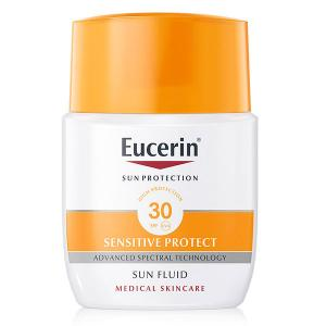 Eucerin Sun Sensitive Protect Fluido Solar Facial Matificante SPF30 50ml