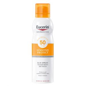 Eucerin Sun Spray Transparente Toque seco corporal SPF50 200ml