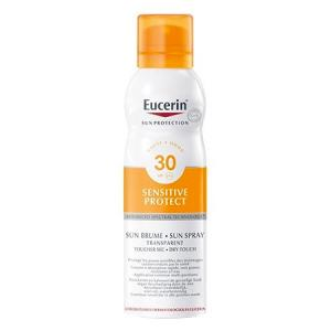 Eucerin Sun Spray Transparente Toque Seco SPF30 200ml