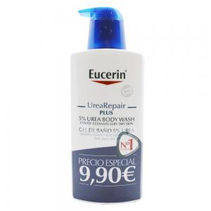 Eucerin UreaRepair Plus Gel Baño 5% Urea 400ml