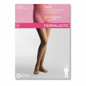 Farmalastic Panty (Media Hasta La Cintura) Compresión Normal Talla Grande Beige