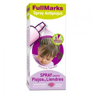 Full Marks Spray Antipiojos Sin Pesticidas 150ml