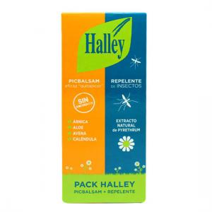 Pack Halley Repelente Insectos 150ml + Picbalsam 40ml