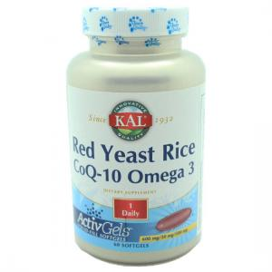 KAL- red yeast rice COQ-10 OMEGA 3