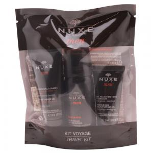 Nuxe Men Kit de Viaje Gel Ducha 30ml + Gel Afeitar 35ml + Gel Multifunciones Hidratantes 15ml