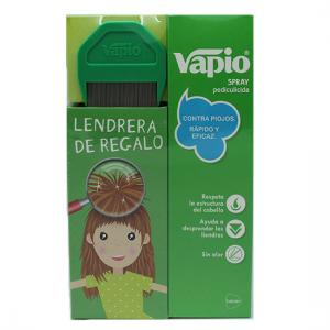 Kit Vapio spray antipiojos 150ml + lendrera