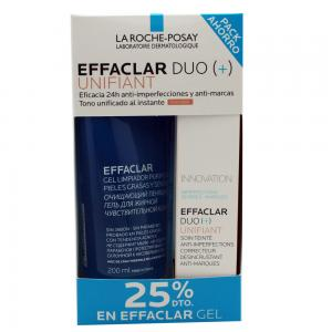 Pack La Roche Posay Duo Unifiant 40ml + Effaclar Gel 200ml