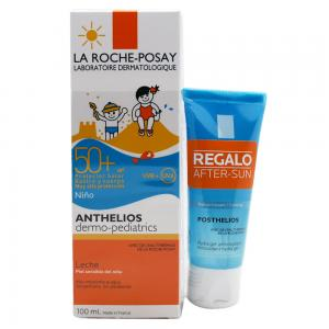 Pack La Roche Posay Anthelios Dermo-Pediatrics Leche SPF50 100ml + Aftersun Posthelios Gel 40ml