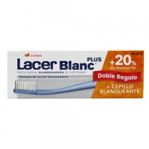 Lacer Blanc Plus D-Citrus 150ml + Cepillo Blanqueador de Regalo