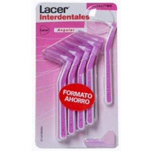 Lacer Cepillo Interdental Angular Blister Ultrafino 10 Unidades