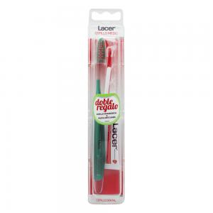 Lacer Cepillo Medio + Cepillo interdental + Pasta anticaries de Regalo