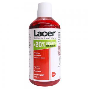 Lacer Colutorio Sin Alcohol 500ml + 100ml