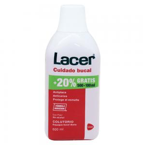 Lacer Colutorio Sin Alcohol 500ml + 100ml de Regalo