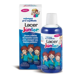 Lacer Enjuague pre Cepillado Lacer Junior 500ml